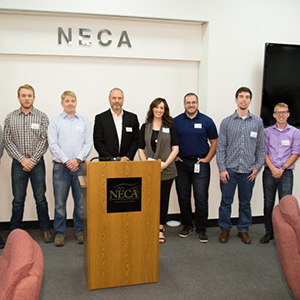 NECA/IBEW Local 48 works with OSU students