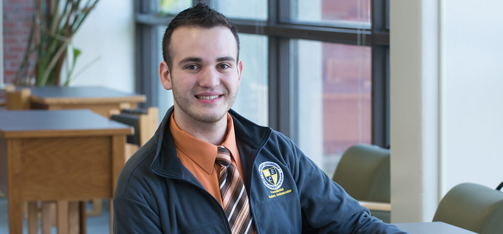 A student in the General Studies Individualized option program