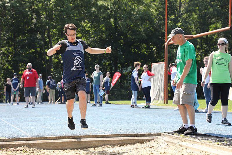 NECC at Special Olympics Track