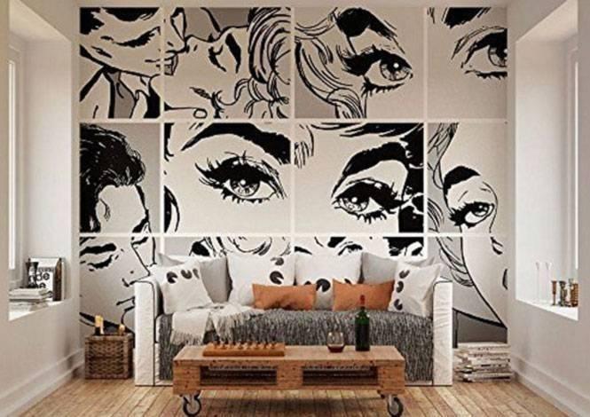 Necessaire da Diva Decoração-Pop-Art-035 Dicas de decoração : decorando com Pop art. Coisas de Bárbara.  Pop art dicas de decoração