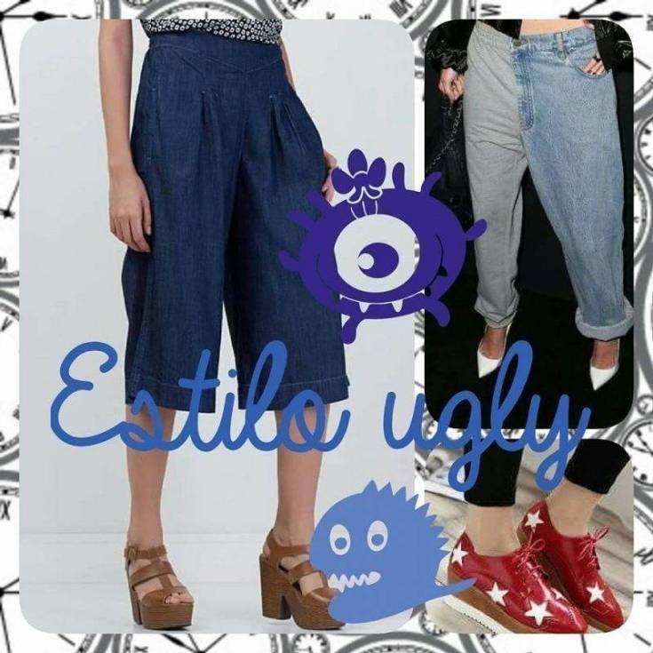 "Necessaire da Diva estilo-ugly Estilo ugly : a moda do"" feio"" . Moda  estilo ugly na moda calça pantacourt calça baggy"