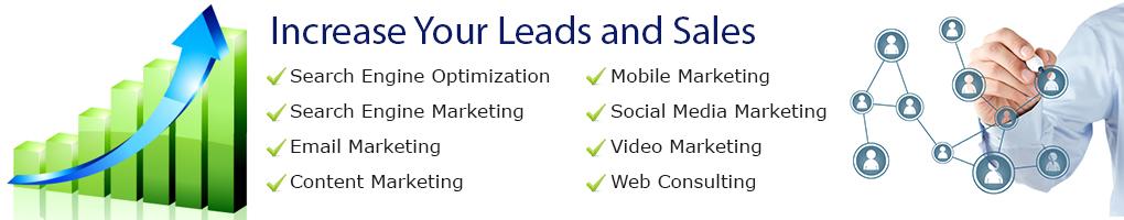 Internet marketing services banner