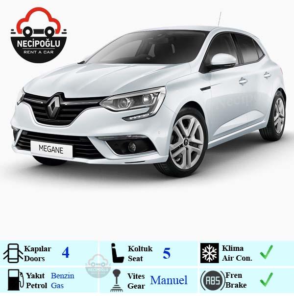 Keçiören araç kiralama Renault Megane