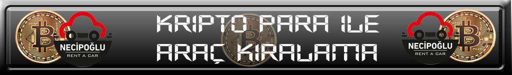 Bitcoin ile araç kiralama