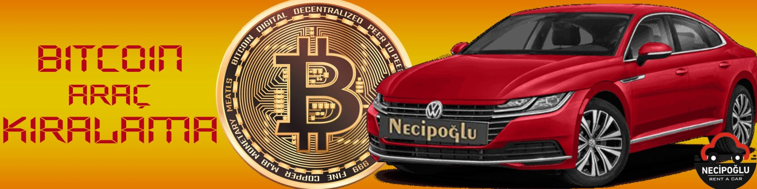Bitcon ile araç kiralama