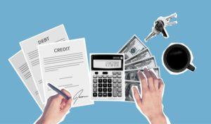 debit credit money