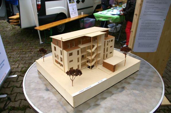 So soll das Haus der Wohngemeinschaft einmal aussehen