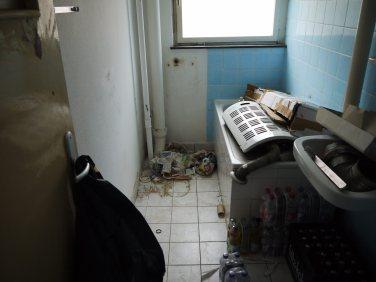 Nach jedem Auszug wurden laut Mieterangaben von der GBG die Toiletten entfernt