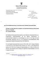Kriminalitätsentwicklung Neckarstadt-West. Stand: 27.04.2016 | Quelle: Bürgerinformationssystem der Stadt Mannheim