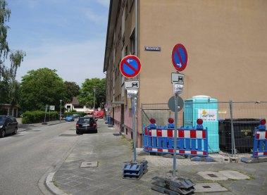 Zwei Monate Baustelle: Die Kinzigstraße wird bis Mitte August gesperrt   Foto: Neckarstadtblog