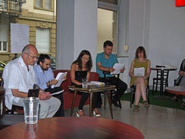 Gar nicht auf dem Programm stand die szenische Lesung am Sonntag in der Langen Rötterstraße 60 | Foto: Neckarstadtblog