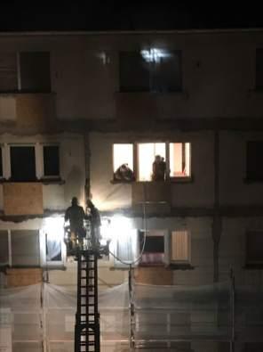Feuerwehreinsatz in der Uhlandstraße | Foto: Lesereinsendung (H.S.)