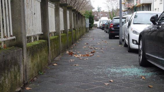 Autoaufbruch in der Kinzigstraße | Foto: M. Schülke