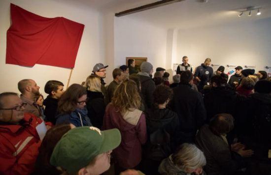 Die Sprecher des Zentrums begrüßten die Gäste und stellten ihr Konzept vor   Foto: CKI