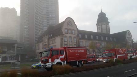Feuerwehreinsatz am frühen Morgen | Foto: Stadt Mannheim