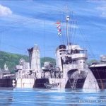参考資料としてピットロード製 駆逐艦「睦月」を購入です。