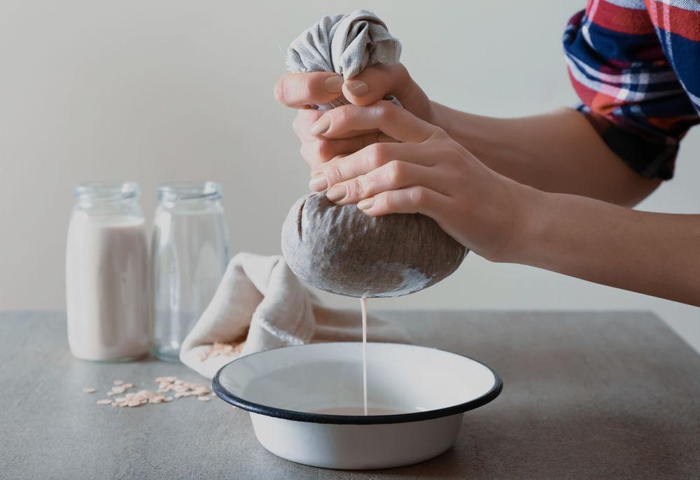 Raw Food Filter Bag - Making Vegan Milk with Nut Milk Bag from Nectarbar