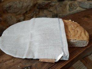 Filterbeutel als Brotbeutel zum Frischhalten