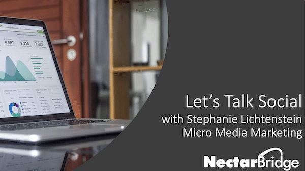 Let's Talk Social with Stephanie Lichtenstein