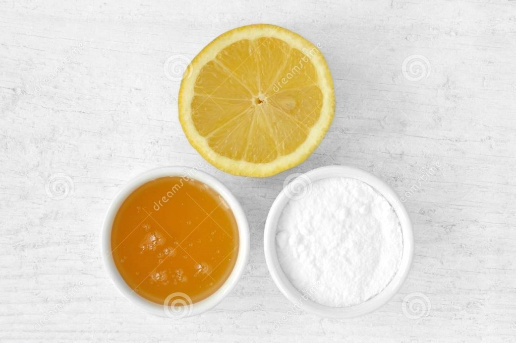 lemon juice and chickpea powder for acne