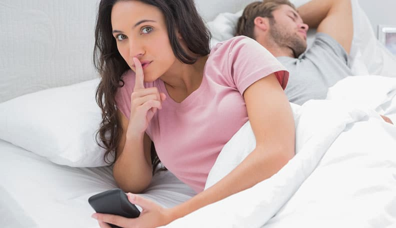 Sign your partner is thinking about cheating