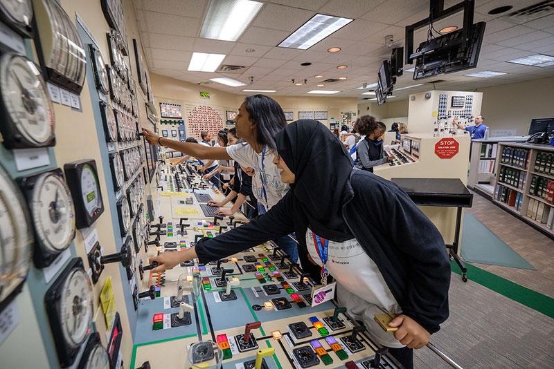 STEM students in signature programs