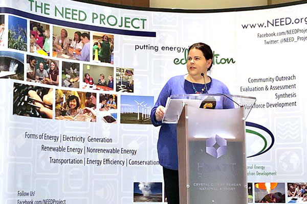 Executive Director speaking at energy industry conference