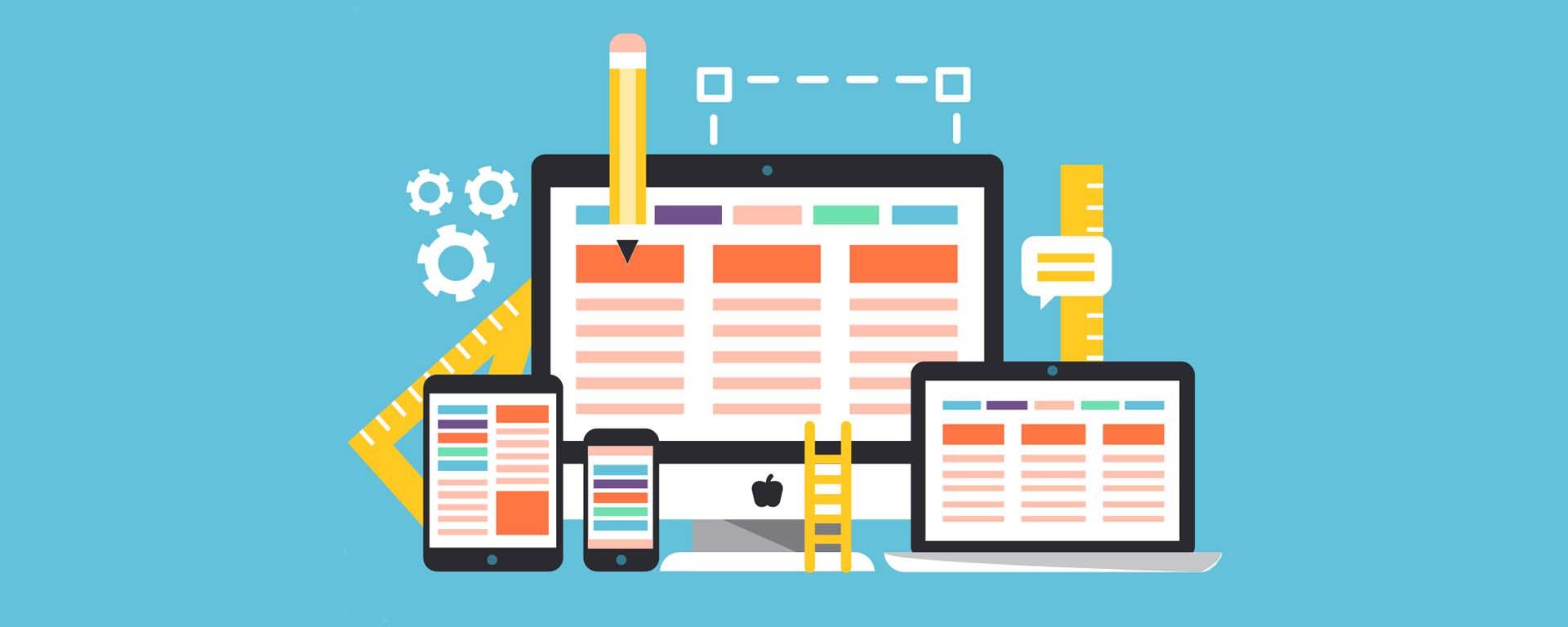 Responsive web design coding