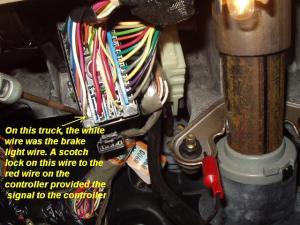 2000 Chevy Trail Blazer Braker Controller Install