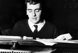 Dudley Moore at piano