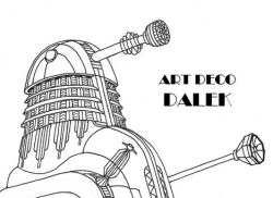 Art Deco Dalek by Promus-Kaa