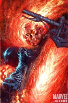 Ghost Rider #26 monkey variant.
