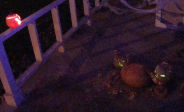Pumpkin Carnage at Night