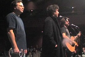 Paul Sabourin, Neil Gaiman and Jonathan Coulton