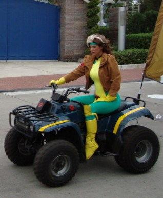 Rogue from Islands of Adventure in Florida