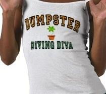 Dumpster Diving Diva