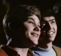 Young Kurt Russell and an Osmond at the Haunted Mansion