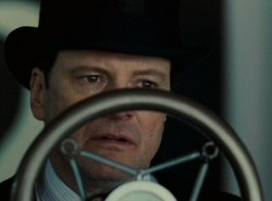 Colin Firth as George VI in The King's Speech