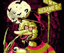 Nightmare on Sesame Street from Tshirt Bordello