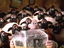 Wallace and Gromit and Sheep: sad