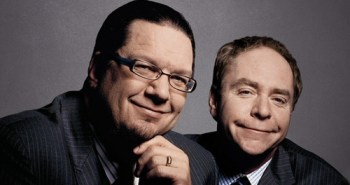 Penn and Teller smiling