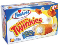 Hostess Twinkies with Banana Creme Filling return