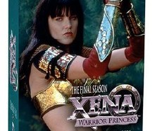 Xena Warrior Princess Season 6 DVD