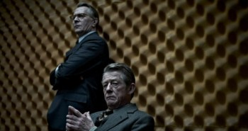 Gary Oldman and John Hurt in Tinker Tailor Soldier Spy (2011)