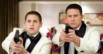Jonah Hill and Channing Tatum from 21 Jump Street