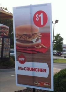 McCruncher sign