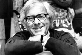 Ray Bradbury Smiling