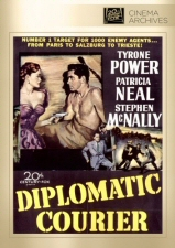 Diplomatic Courier (Fox Cinema Archives) DVD