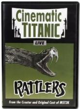 Cinematic Titanic Live: Rattlers DVD