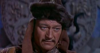 John Wayne as Genghis Khan